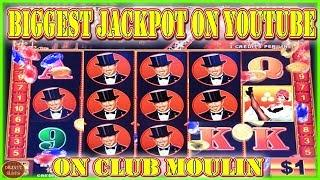 THE BIGGEST JACKPOT ON CLUB MOULIN ON YOUTUBE