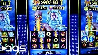 Olympus Strikes Slot Machine from AGS