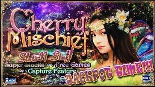 Cherry Mischief High Limit Slot Play Jackpots