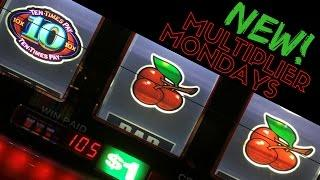 MULTIPLIER MONDAYS • Slots with Delicious Multipliers • Live Play Slots / Pokies