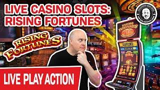 ★ Slots ★ LIVE HIGH-LIMIT Rising Fortunes + MORE ★ Slots ★ Slots AGAIN at an ACTUAL CASINO!