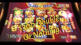 Dancing Drums - $300 double or nothing
