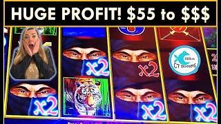 ⋆ Slots ⋆DOLLAR STORM SLOT MACHINE SAVED MY BANKROLL! ⋆ Slots ⋆BIG WINS! STILL LOVING THIS NEW ROOM AT MOHEGAN!!