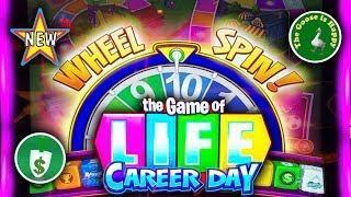 •️ New • The Game of Life Career Day slot machine, Nice Bonus