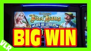 NEW COLOSSAL BIER HAUS - BIG WIN MAX BET PROGRESSIVE BONUS + Slot Machine LIVE PLAY