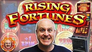 Who Loves HUGE FORTUNES?! •Big Jackpot on Rising Fortunes •