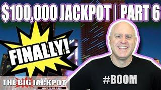 $100,000 JACKPOT FINALE! • Patreon Exclusive • HIGH LIMIT SLOTS | The Big Jackpot