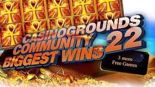 CasinoGrounds Community Biggest Wins #22