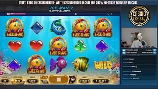 RECORD WIN!!! Golden Fish tank Big win - Casino - free spins (Online Casino)