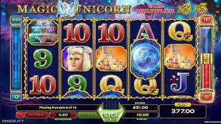 Magic Unicorn slot - 483 win!