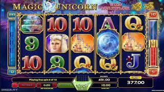 Magic Unicorn slot - 483 win!