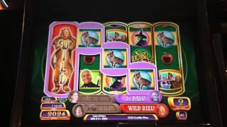 Wizard of Oz Ruby Slippers Slot Machine Bonus - Emerald City Spins
