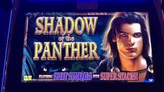 Shadow of the Panther Bonus Jackpot Handpay