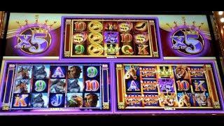 KING SPIN | Ainsworth - BIG WIN - Slot Machine Bonus Feature *NEW GAME*