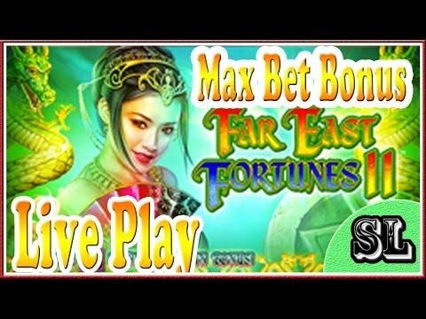 ** Far East Fortunes II ** Max Bet Live Play and Bonuses ** SLOT LOVER **