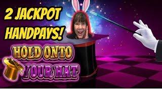 2 HANDPAY JACKPOTS! HOLD ONTO YOUR HAT-LOCK IT LINK SLOT