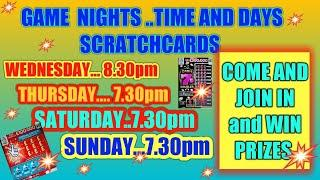 SCRATCHCARDS..AND FUN...WITH ALBERT