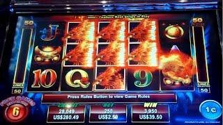 MAJOR PROGRESSIVE! Golden Phoenix Slot - BIG WIN!