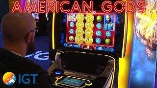 American Gods 4D Slot Machine from IGT