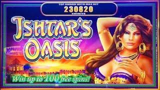 ++NEW WMS Ishtar's Oasis Awesome Reels Slot Machine, Class II Explained, Live Play & Bonus