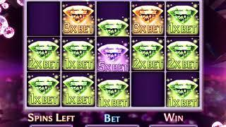 MARILYN MONROE: DIAMOND SPARKLE Video Slot Casino Game with a DIAMOND SPARKLE FREE SPIN BONUS