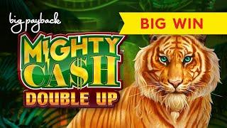 Mighty Cash Double Up Lucky Tiger Slot - ALL FEATURES, LOVED IT!