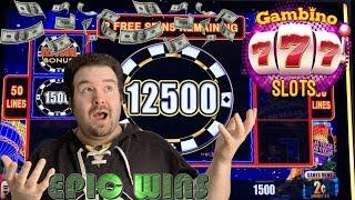 ALL SLOT WINS OVER $500.00 - FEATURING GAMBINO SLOTS