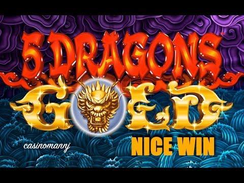 5 dragons slot machine videos by casinomannj facebook