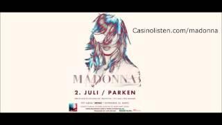 Vind billetter til Madonna koncerten i Parken