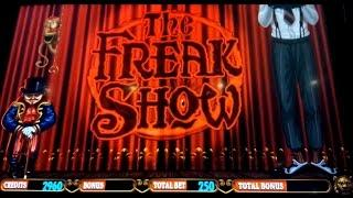The Freak Show Slot Machine *LIVE PLAY* Free Spins & Pick Bonuses!