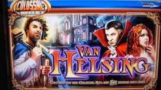 WMS  Van Helsing Bonus on a $1 50 bet