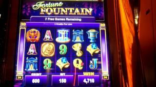 Fortune Fountain Slot Bonus - Ainsworth
