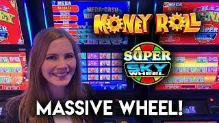 Super Sky Wheel! Money Roll Slot Machine! BONUSES!!