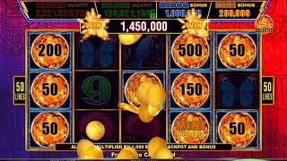 TIKI FIRE Video Slot Casino Game with a TIKI FIRE BONUS