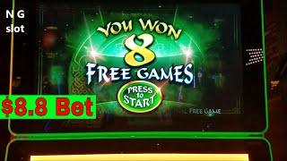 •NEW• 88 Fortune Slot Machine Bonus Win $8.8 Bet !!! $800 Live Play