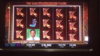 Black Widow £100 in £5 a spin double or nothing
