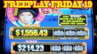 Geisha FREEPLAY FRIDAY EPISODE 19 Slot Machine BONUS&LIVE PLAY