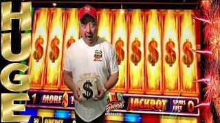 HUGE WIN! $$$ SPIN IT GRAND•RETRIGGER INSANITY•KEN, NAILED IT•FOUR WINDS CASINO