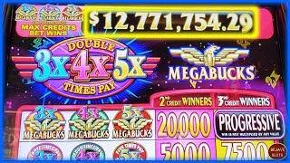 • GOING FOR $12,771,754 • •• WIFE vs HUSBAND • MEGABUCKS VS DOUBLE DIAMOND DELUXE