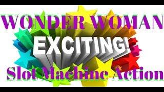 Wonder Woman Exciting Slot Machine Action