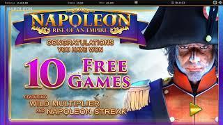 Napoleon Slot (Blueprint) - 2 BIG Feature Wins!