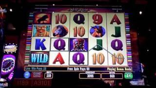 Red Lions Bonus Win at The Sands Casino at Bethlehem, PA on penny slot machine