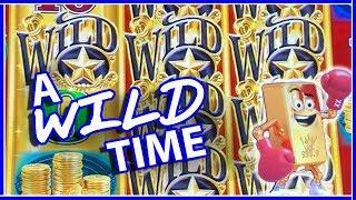 • A WILD Time!! • Gold Bonanza at Aria Casino • Slot Machine Pokies w Brian Christopher