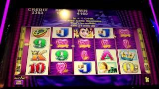 Aristocrat - Harlequin Hearts Slot/Jungle Joe Slot - SugarHouse Casino - Philadelphia, PA