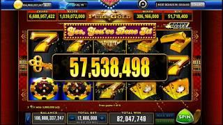 Pure Gold Slot machine Jackpot (Heart Of Vegas) Online Gameplay