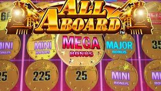 ⋆ Slots ⋆ALL ABOARD OMG! the MEGA Landed!⋆ Slots ⋆ Massive Big Win⋆ Slots ⋆ (Konami)