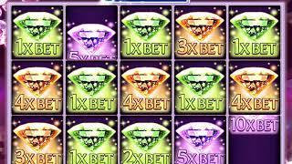 MARILYN MONROE: DIAMOND SPARKLE Video Slot Casino Game with a DIAMOND SPARKLE FREE BONUS