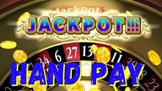 ⋆ Slots ⋆WHOA! EPIC Hand Pay playing This Casino Slot Machine!