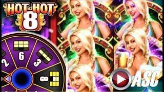 •HOT HOT 8! BIG WIN! BIER HAUS! 30-SPINS W/ 6 SCREENS!• Slot Machine Bonus