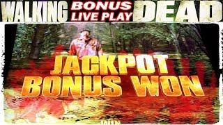 • WALKING DEAD 2 JACKPOT BONUS WON • MAX BET - LIVE PLAY • SLOT MACHINE